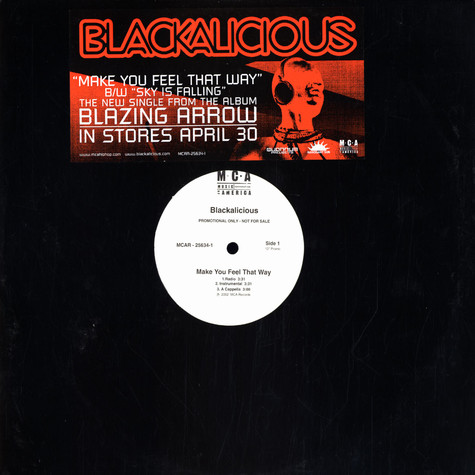 Blackalicious - Make you feel that way