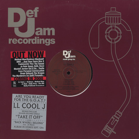 LL Cool J - Take it off