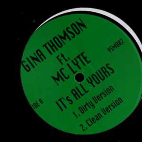 Gina Thomson feat. MC Lyte - It's all yours