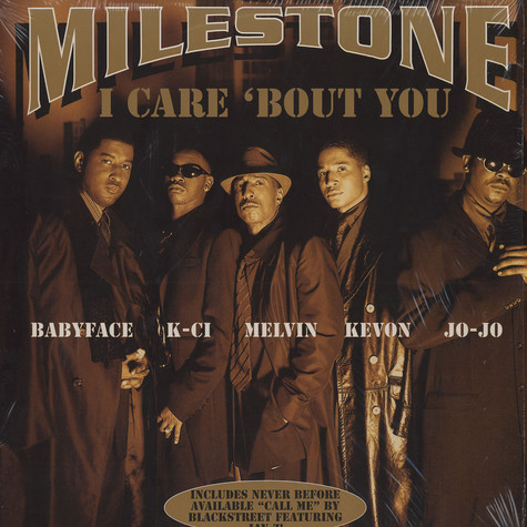 Milestone / Blackstreet - I care 'bout you / Call me feat. Jay-Z