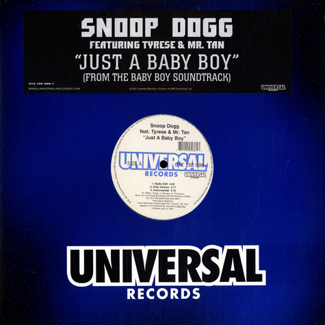 Snoop Dogg - Just A Baby Boy feat. Tyrese & Mr. Tan