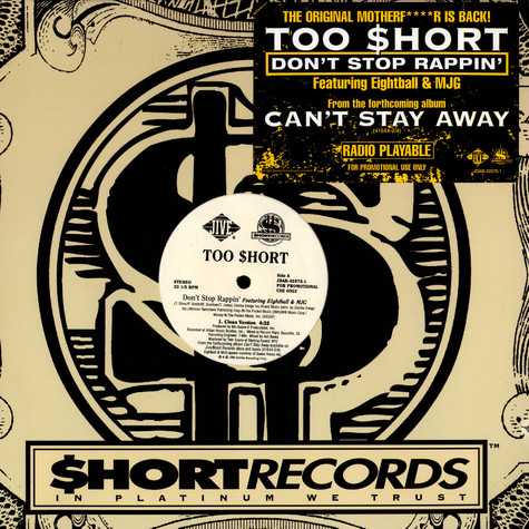 Too Short - Don't stop rappin feat. Eightball & MJG