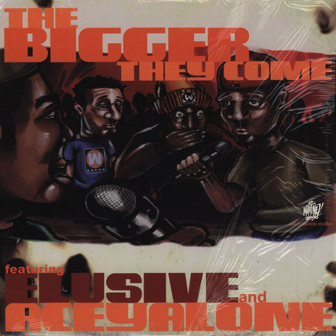 Elusive And Aceyalone - The Bigger They Come