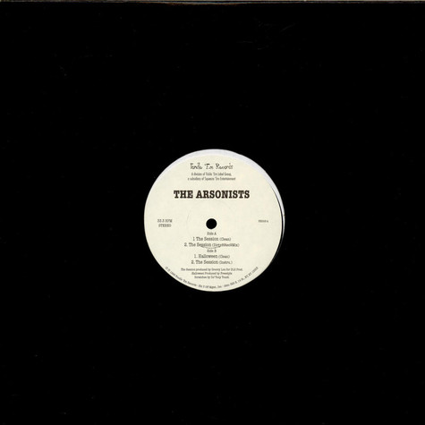 Arsonists, The - The Session