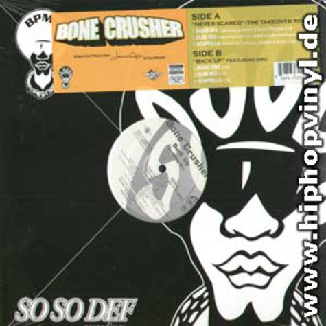 Bone Crusher - Never Scared The Takeover Remix