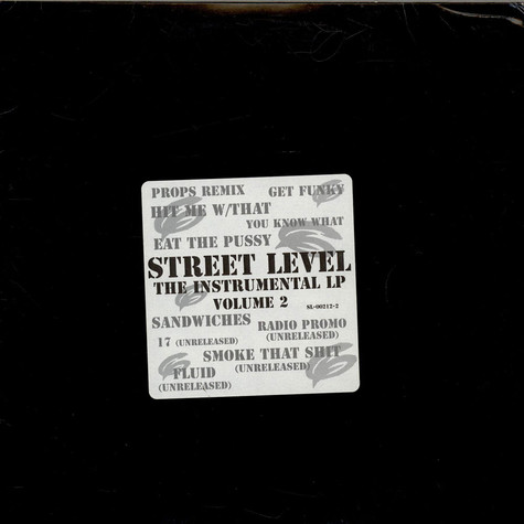 The Beatnuts - Street Level - The Instrumental LP (Volume 2)