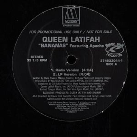 Queen Latifah - Bananas
