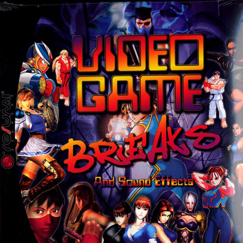 DJ JS-1 & DJ Rob - Video game breaks vol.1