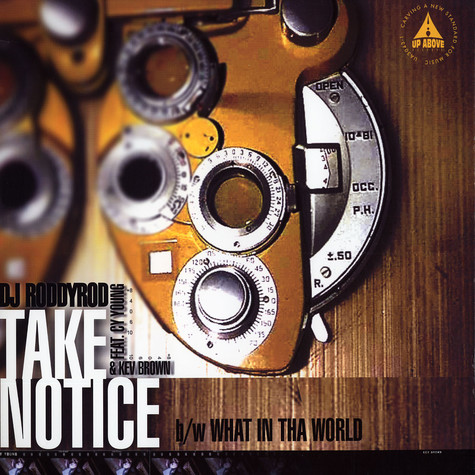 DJ Roddy Rod of Maspyke - Take Notice Feat. Cy Young & Kev Brown