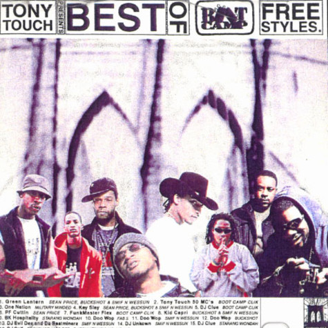 Tony Touch & Boot Camp Clik - Best of Boot Camp  freestyles
