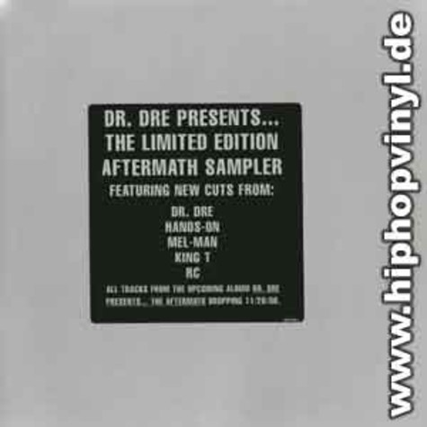 Dr.Dre - Limited edition aftermath sampler