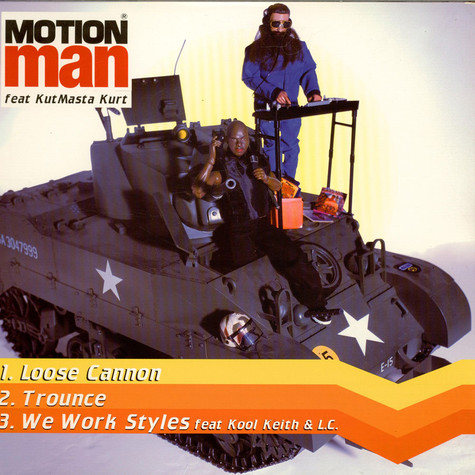 Motion Man - Loose Cannon