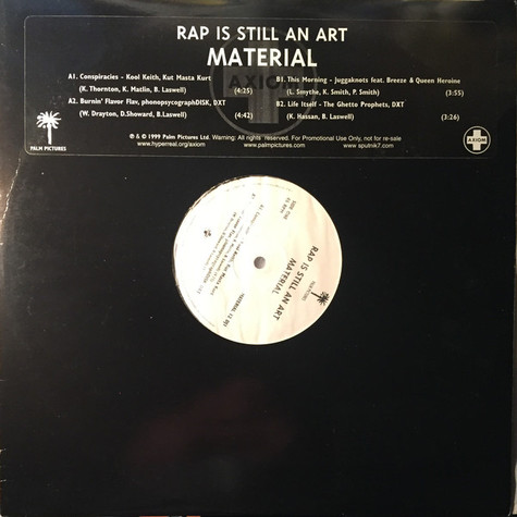 V.A. - Rap is still an art
