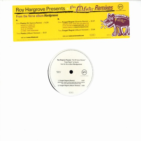 Roy Hargrove Presents RH Factor, The - Remixes