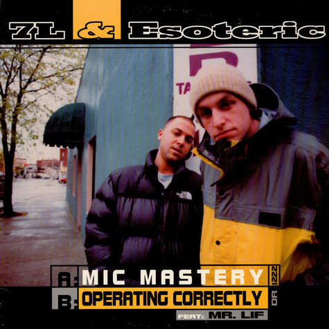 7L & Esoteric - Mic Mastery / Operating Correctly
