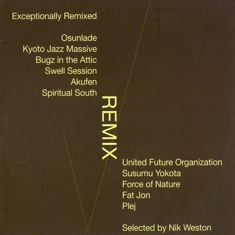 V.A. - Exceptionally remixed