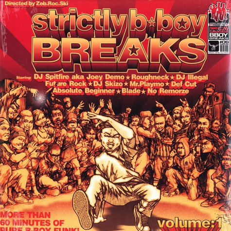DJ Zeb.Roc.Ski - Strictly b-boy breaks vol.1