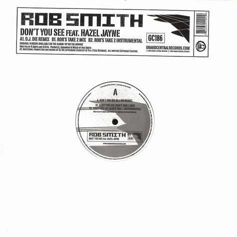 Rob Smith - Don't you see feat. Hazel Jane
