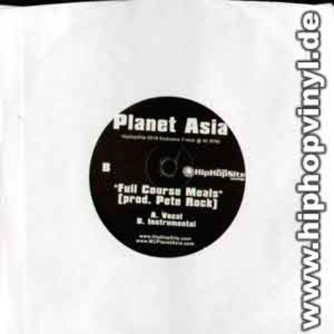 Planet Asia - Full course meals