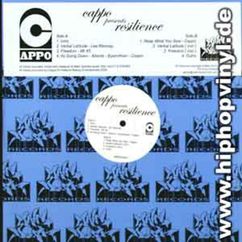 Cappo presents: Resilence - EP