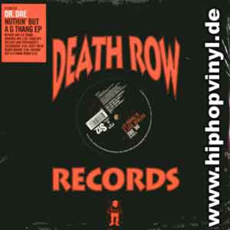 Dr.Dre - Nuthin but a g thang EP