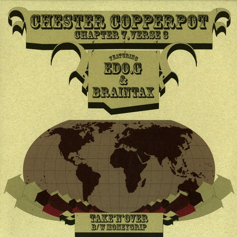 Chester Copperpot - Take'n'over feat. Ed O.G