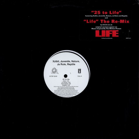 Xzibit, Juvenile, Nature, Ja Rule, Reptile / K-Ci & JoJo - 25 to life / life remix