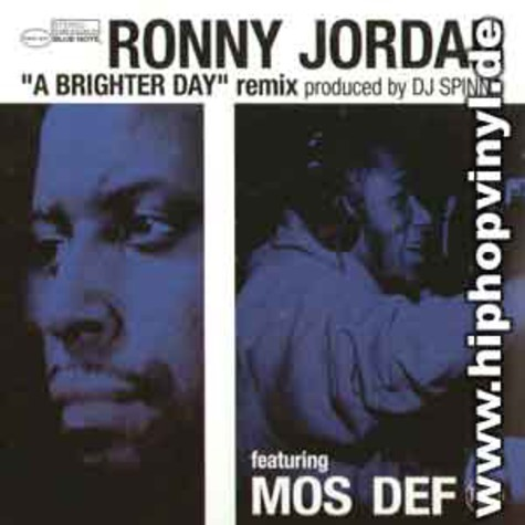 Ronny Jordan - A brighter day DJ Spinna remix feat.Mos Def