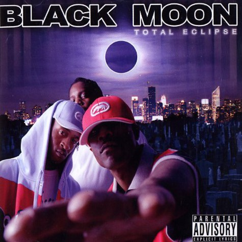Black Moon - Total eclipse