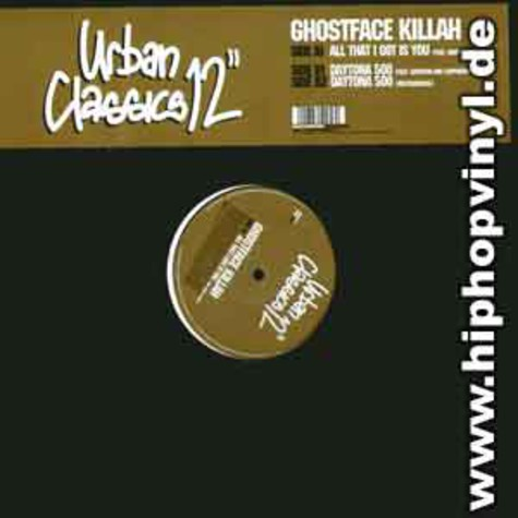 Ghostface Killah - All that i got is you feat. Mary J. Blige