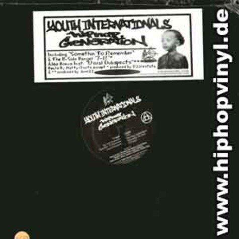 Youth Internationals - Hip hop generation EP
