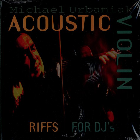 Michael Urbaniak - Acoustic violin riffs for djs