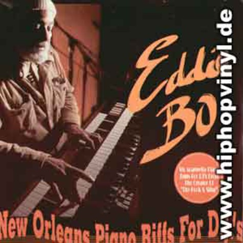 Eddie Bo - New orleans piano riffs for djs vol.1