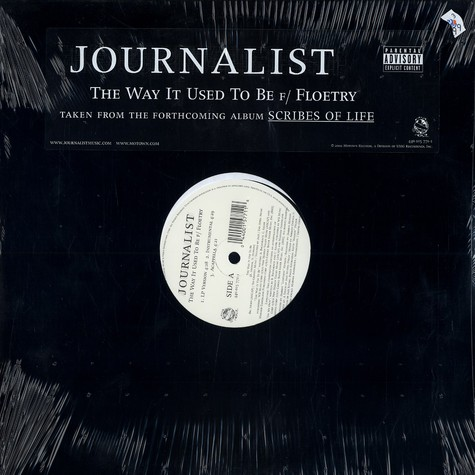 Journalist - The way it used to be feat. Floetry