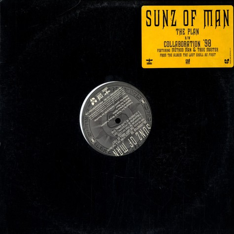 Sunz Of Man - The Plan / Collaboration '98 feat. Method Man & True Master