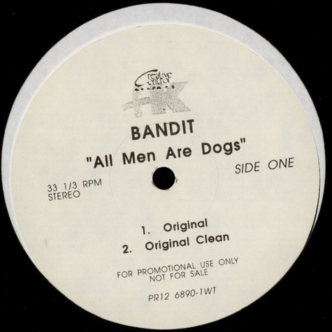 Red Bandit - All Men Are Dogs