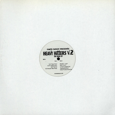 Fakts One - Heavy Hitters V.2 - The Remix EP
