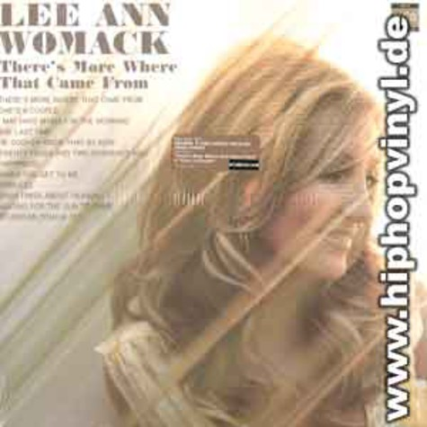 Lee Ann Womack - Theres more where that came from