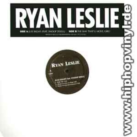 Ryan Leslie - Just right feat. Snoop Dogg