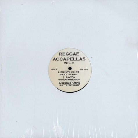 Reggae Accapellas - Volume 5
