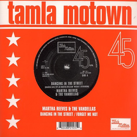 Martha Reeves & The Vandellas - Dancing in the street
