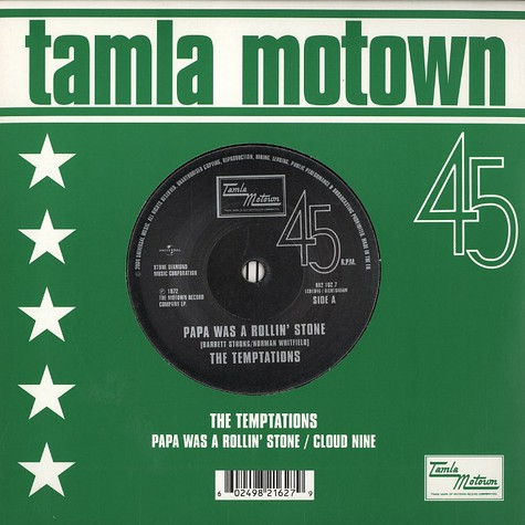 Temptations, The - Papa was a rollin' stone