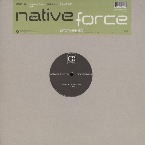 Native Force - Promise EP