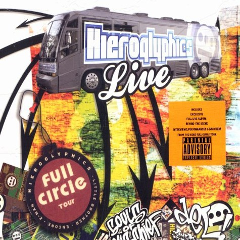 Hieroglyphics - Full circle tour live DVD