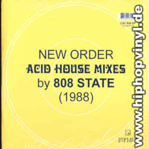 New Order - Acid house mixes