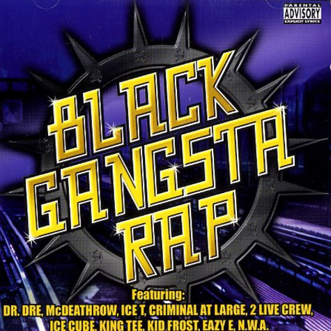 V.A. - Black gangsta rap