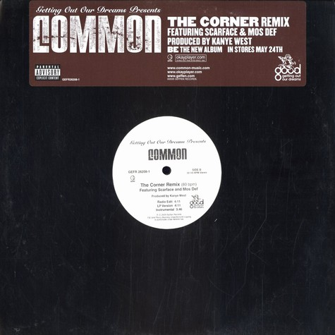 Common - The corner remix feat. Mos Def & Scarface