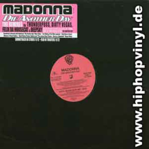 Madonna - Die another day remixes