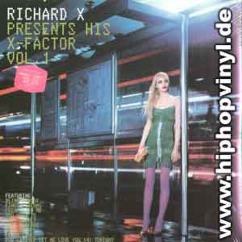 Richard X - ... presents his x-factor volume 1