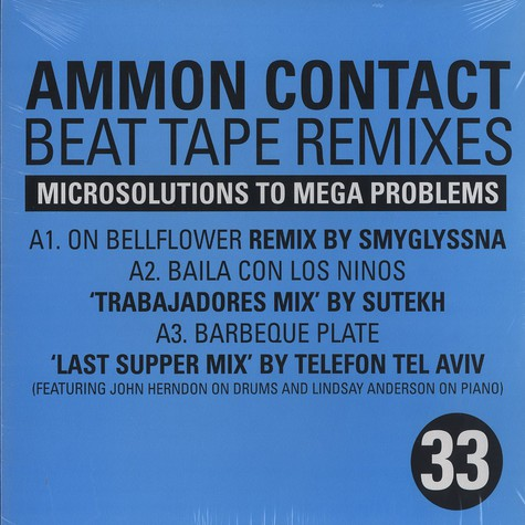Ammon Contact - Beat tape remixes